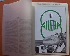 MOTO GILERA 98 Arcore Milano 1959 prospetto ITALIA AUTO D'EPOCA DA COLLEZIONE