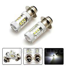 80W LED Head Light Bulbs for Yamaha YFZ450 Banshee 350 YFZ350 Kawasaki KLX250