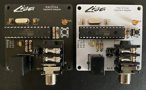 ArcaneByte mac2lisa Macintosh 128 512 Plus to Apple Lisa MacXL Keyboard Adapter