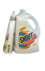 Shout Stain Remover 1 Gal. With Spray Bottle 22oz Included