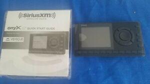 NEW Onyx EZ Eazy Sirius XM Model XEZ1 Replacement Radio Receiver ONLY w Manual