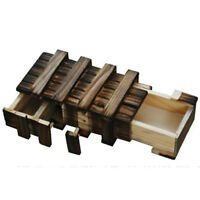 Puzzle Box Japanese Wooden Yosegi Secret Japan Bako Trick Brain New Steps Hakone