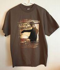 Vintage Justin Timberlake Shirt Justified Stripped Tour Large 2003 Tour Dates