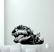 Godzilla Wall Decal Movie Monster Vinyl Sticker Kids Art Poster Mural 234hor
