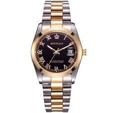 REGINALD Luxury Men's Watches Stainless Steel Auto Date Quartz Homage Wristwatch
