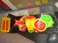VINTAGE 1960's HIPPIE LUMINO BUG MOBILE BLACKLIGHT COLLECTIBLE AMERICANA JAPAN