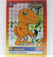 DIGIMON TRADING CARDS - AGUMON 11/34 foil - CARTE UFFICIALI SERIE TV-1a SERIE