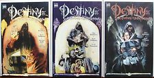 DESTINY #1-3 Complete ~ DC Sandman Comics A. KWITNEY, K. WILLIAMS & M. ZULLI