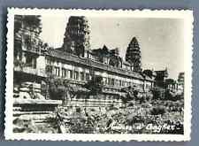Cambodge, Ruines d'Angkor  Vintage silver print.  Tirage argentique d&#03