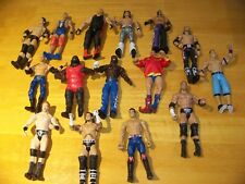 Lot of WWE Wrestling Mattel Action Figures Wrestlers,  Punk, Cena, Vader, Shek +