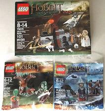 LEGO Hobbit 79015 Witch-King Battle, 30212 Mirkwood Elf, 30216 Lake-town Guard