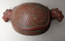 Indianisches Tongefäß Vase präkolumbianischer Stil