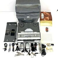 Rare! Vintage Wollensak Model 1580 Stereophonic Tape Recorder With Accessories
