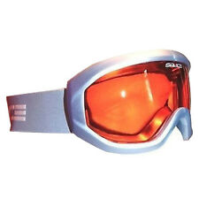 SALICE vertice Sci Snowboard Occhiali ANTIAPPANNAMENTO LENTE-Acciaio Blu / Arancione