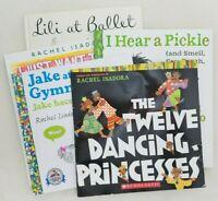 Lot of 5 PB & HC Rachel Isadora Children's Picture Books C351