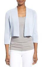 NWT Eileen Fisher Delfina 3/4 Sleeve Crop Short Cardigan Size S $198