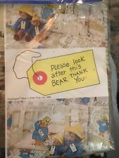 40 sheets Paddington bear Cardboard 1 side 21x15 cm  new 1 side
