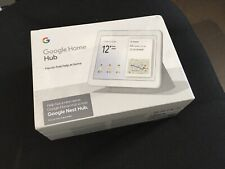 GOOGLE Home Nest Hub - Chalk - NEW. FACTORY sealed 1 Year Warranty