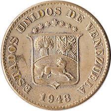 1948 Venezuela 5 Centimos Coin Y#29a