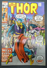 Thor 179 Stan Lee, Jack Kirby Et vince colletta  En Vo marvel last kirby