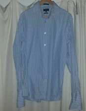 Size XL Oxford French Cuff Long Sleeve Business Shirt