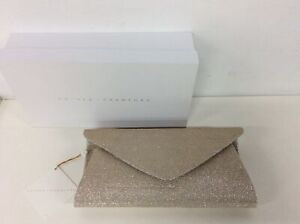 Anthea Crawford Gold Clutch with Chain Strap #602