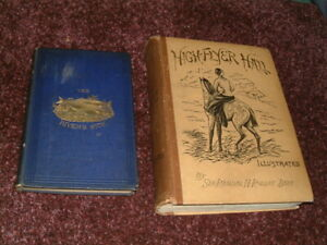 2 Rare fishing angling hunting River's Side; Sir,Randell Roberts trout grayling