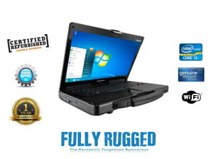Panasonic Toughbook CF-53 I3 Rugged Laptop Win 7 or 10 Diagnostics 3G Customise