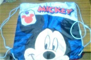 Sac sport/piscine Mickey Neuf 36x36 cm