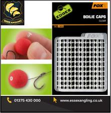 FOX Bordi TAPPI delle Boilie trasparente - 120 Per Confezione-CAC601
