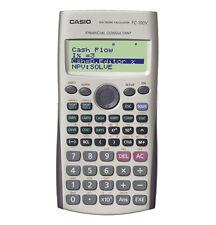 Cs16701 Casio Financial Calculator 12-digit Silver Fc-100v-um