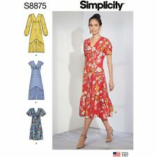 Simplicity Sewing Pattern S8875 Misses' Dresses
