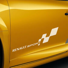 RENAULT Sport F1 Team Sunstrip ADESIVI MEGANE 225 Turbo 182 172 Cup COPPIA 400 mm