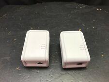 2 SerComm 200Mbps Powerline Ethernet Adapter Model IP522CG V2 #69