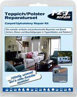 123Repair Tapis Rembourrage Réparation Canapé Trou de Feu Trousse