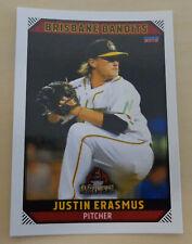 Justin Erasmus 2018/19 Australian Baseball League card - Brisbane Bandits