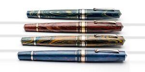 Leonardo pen officina italiana MUSIS muse ebanite fountain pen vari colori