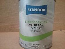 RAL9005 Standocryl 2K Samtschwarz 1 litre Standox Glanz Tiefschwarz TiefScwarz