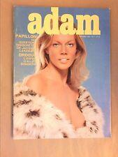 RARE REVUE EROTIQUE VINTAGE / ADAM N°47 / 1972 / KARIN PETERSEN / TB ETAT