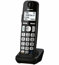 panasonic black cordless home telephones handsets dect 6 0 handset rh ebay com Panasonic Kx- Tg270 Sim Panasonic Telephone User Manuals