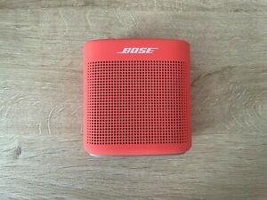 Bose Color II - Special Edition - Coral Red - Pristine Condition