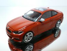 MINICHAMPS BMW 2 SERIE COUPE - RED 1:43 - EXCELLENT - 38/37