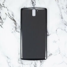 For OnePlus One 1Plus 1+ New Black TPU Matte Gel skin case cover