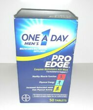 Brand NEW Bayer One A Day Men's Pro Edge Complete Multivitamin SEALED 06/2021