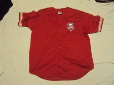Phila Phillies Red Jersey Adult Size 2XL New Without Tags!