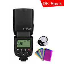 Godox Thinklite TT600 2.4G Camera Flash Compatible para Nikon, Canon, Sony,y Pantex Olympus - Negra