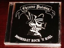 Chrome Division: Doomsday Rock 'N' Roll CD 2006 Nuclear Blast USA NB 1665-2 NEW