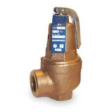 Apollo 1060405 Bronze | Safety Relief Valve, ASME Hot Water, 3/4 In (30 psi)