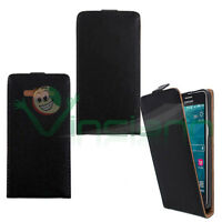 Custodia Flip cover NERA per Samsung Galaxy Grand Prime G530 apertura verticale