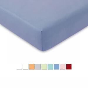 ESTELLA Jersey Kinder Spannbettlaken Bettlaken Sapnner 70x140 cm